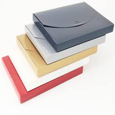 A4 Metallic Document Boxes A4 Premium Document Boxes A4