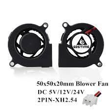 <b>Gdstime 1 Piece DC</b> 24V 50mm Blower Fan 50x50x20mm ...