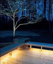 decking lighting ideas. Installing Lights Under Benches Bathes Your Deck In A Warm Glow. Rope ! Decking Lighting Ideas
