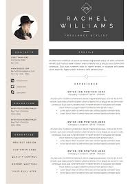 Digital Resume Templates 4 Page Resume Cv Template Cover Letter For Ms Word