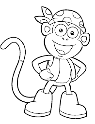 Cartoon Characters Coloring Pages At Getdrawingscom Free For