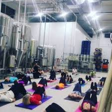 beer and yoga gain a foothold