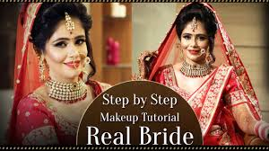 real bride make up step by step indian asian bridal makeup tutorial bollywood style makeup you