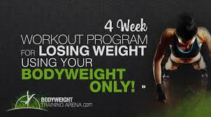 time to shred that body fat 4 week workout program for losing weight with calisthenics