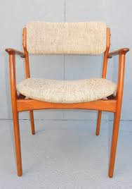 pair of danish modern erik buch no 49 armchairs o d mobler denmark in excellent