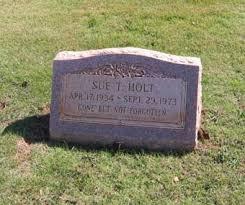 Susan Tana Holt (1934-1973) - Find A Grave Memorial