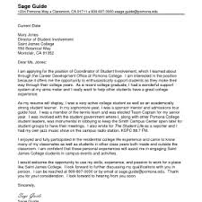 cover letter cover letter sample student cover examples for college students experience high school work cna sample cover letter for student