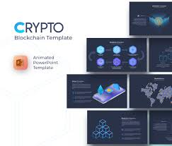 Free Powerpoint Templates Ppt Blockchain Cryptocurrency Powerpoint Template