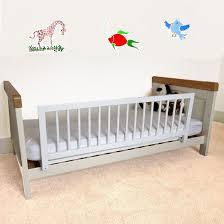 safetots wooden bed rail white