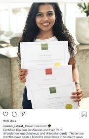 makeup reviews in dubai testimonials zainab ashraf