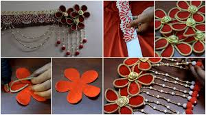 Images Of Designer Torans 75 Alluring Tutorials Paper Toran Making For Kids