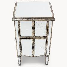 mirrored side table. Clovelly Mirrored Side Table - Allissias Attic \u0026 Vintage French Style 2
