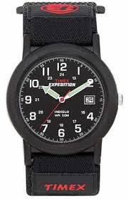 timex watches official uk retailer first class watches timex mens black camper expedition watch t40011