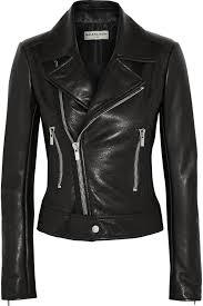 balenciaga balenciaga leather biker jacket