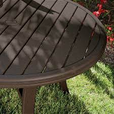banchetto slat tables outdoor tables