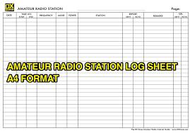 Sample amateur radio contest dupe sheets