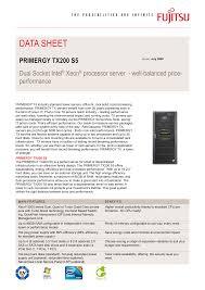 primergy tx200 <b>s5</b>