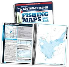 Belleville Lake Depth Chart Southeast Michigan Fishing Map Guide Print Edition
