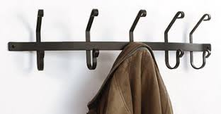 Wrought Iron Coat Rack Wall Mounted Coat Bar Wrought Iron Coat Hook Coat Hanger Coat Rack 2