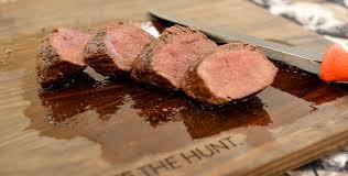 best grilled venison backstrap