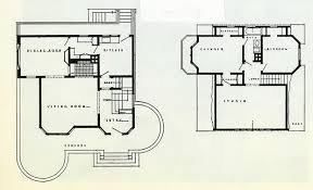 Gallery Of AD Classics Frederick C Robie House  Frank Lloyd Frank Lloyd Wright Home And Studio Floor Plan