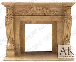 verona antique fireplace mantel surrounds