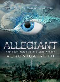 allegiant by veronica roth fanmade cover by 4thelementgraphics