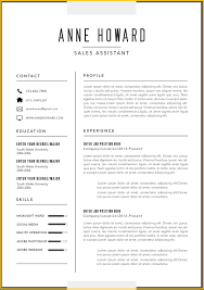 Free Modern Resume Templates Microsoft Wonderful 2018 Download