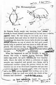 best vladimir nabokov images vladimir nabokov  nabokov s edits to a translation of kafka s metamorphosis