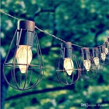 solar le lights outdoor garden light led bulb vintage cage string canadian tire lighting a