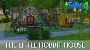 How To Build A Hobbit House Sims 4 Speed Build Das Kleine Hobbit Haus The Little Hobbit