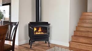 Image Direct Vent C34 Gas Stove With Black Legs Black Door Regency Fireplace Products Gas Stoves Regency Fireplace Products