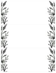 Black And White Invitation Paper Black White Flowers Invitations Templates Free Printable
