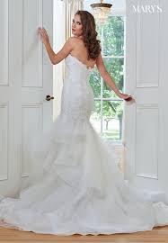ivory color bridal wedding dresses style mb3046