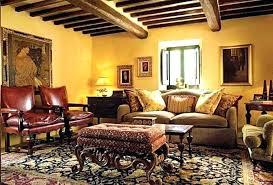living room decor style tuscan