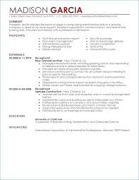 Real Estate Receptionist Job Description For Resume Of Real Real ...