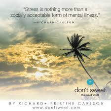 Don T Sweat The Small Stuff Quotes Fascinating Quotes About Stuff 48 Quotes
