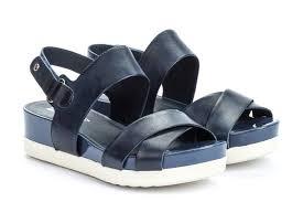 platform sandal women blue view 20