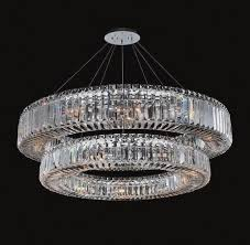 image of contemporary large chandeliers