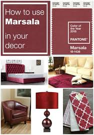 Small Picture 18 best Marsala Everything Pantones Color Of 2015 images on