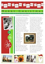 free holiday newsletter template holiday newsletter template unique 19 free christmas letter