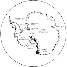 map of antarctica ilrating the geographical position of the pensacola mountains ar argentina range