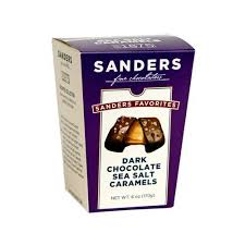 dark chocolate sea salt caramels favorites snack bo 6oz