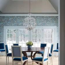 vallone design elegant office. Dining Room With Peacock Blue Velvet Chairs Vallone Design Elegant Office