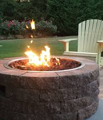 natural gas fire bowl.  Bowl Gas Firepit Kit Bayview  Cape Cod Series Inside Natural Fire Bowl