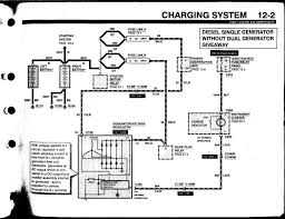 ford charging system wiring diagram charging system wiring ford alternator wiring diagram 2007 nilza net