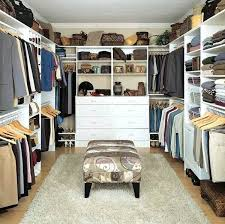 his and hers walk in closet behind bed dimensions stylish closets