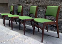 mid century modern danish dining chairs s set of  for sale