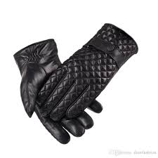 men s thinsulate lined touchscreen genuine leather gloves warm fashion winter gloves boy lambskin driving cute gloves