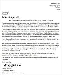 Complaint Format 100 Response Letter Template Free Sample Example format Brilliant 53